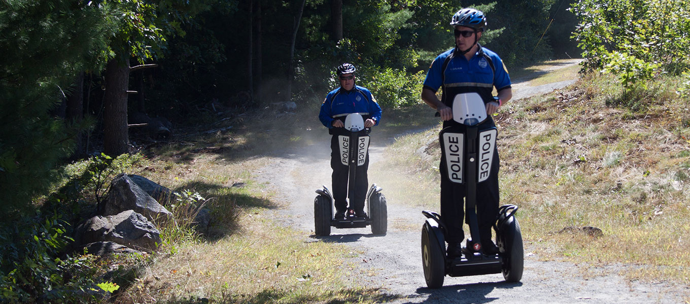 Segway Patrollers Enhance Community Policing