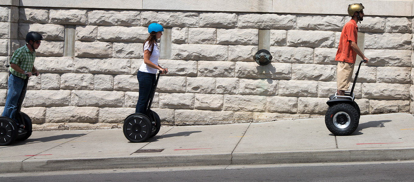 Move Smarter with a Segway PT Tour