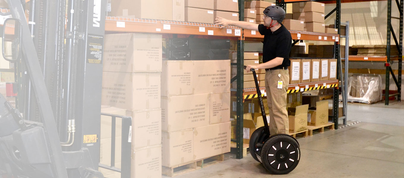 Move More Efficiently with the Segway PT