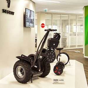 Segway products on display