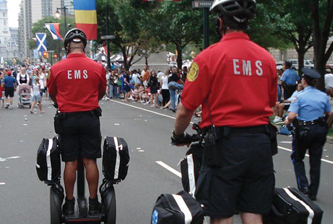 Two EMS on i2 SE PT Patroller during event